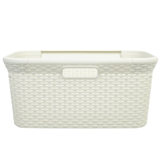 Bankauflagen Cm Style : Bol curver style wasmand l vintage wit