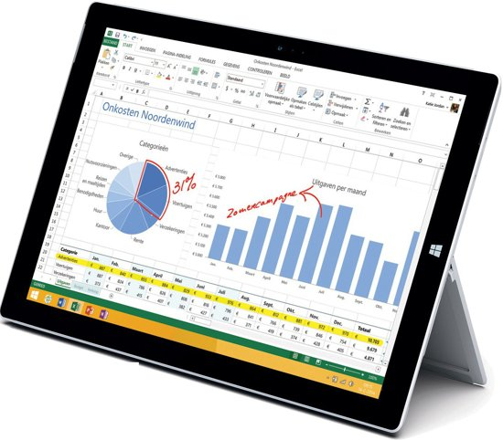 Microsoft Surface Pro 3 - Hybride Laptop Tablet - i7 / 8GB / 512GB
