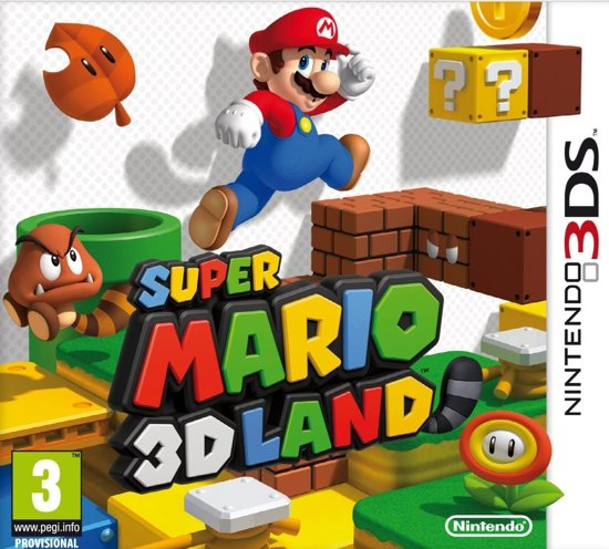 Super Mario: 3D Land - 2DS/3DS