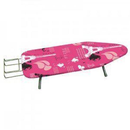 Simpex2005 tafel strijkplank 100 cm roze koken en tafelen - Tafel roze kind ...