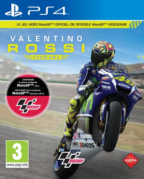 motogp 16 valentino rossi the game ps4 bandai namco games. Black Bedroom Furniture Sets. Home Design Ideas