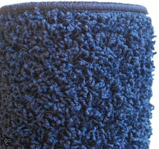 bol.com : Hoogpolig Vloerkleed Blauw Effen 170 x 230 cm. : Wonen