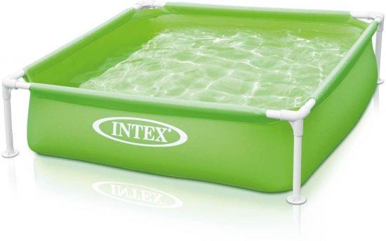 Intex Mini Frame Pool Zwembad 122 X 122 cm - Groen in Nijhuizum / Nijhuzum