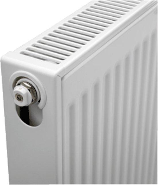 Paneelradiator T21 H300 B1000, inc. bevestigingsset, 914 Watt in De Hoek