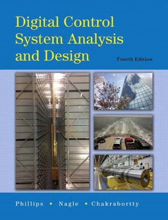 Pearson Digital Control System Analysis And Design