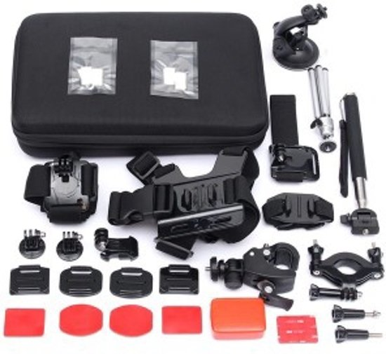 15 in 1 outdoor accessoires set gopro hero 2 3 3 4. Black Bedroom Furniture Sets. Home Design Ideas
