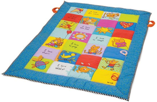 Taftoys i love grote speelmat 100 x 150 cm taf for Alfombras de juegos para ninos