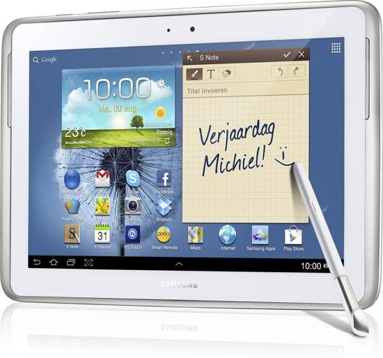 Samsung Galaxy Note - 10.1 (N8000) - met 3G - 16GB - Wit - Tablet