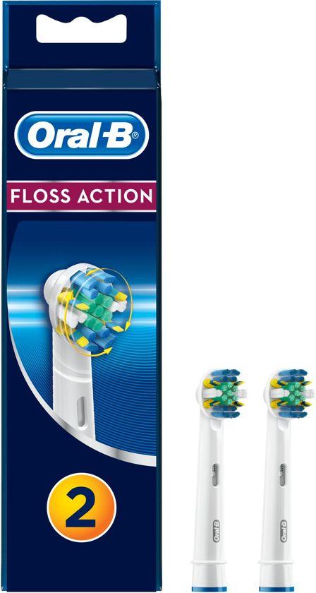Oral-B FlossAction EB25-2 - 2 stuks - Opzetborstels