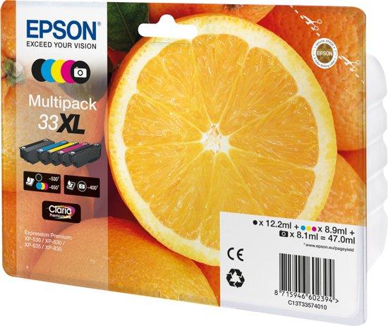 Epson 33XL - Inktcartridge / Zwart / Foto Zwart / Cyaan / Magenta / Geel / Hoge Capaciteit