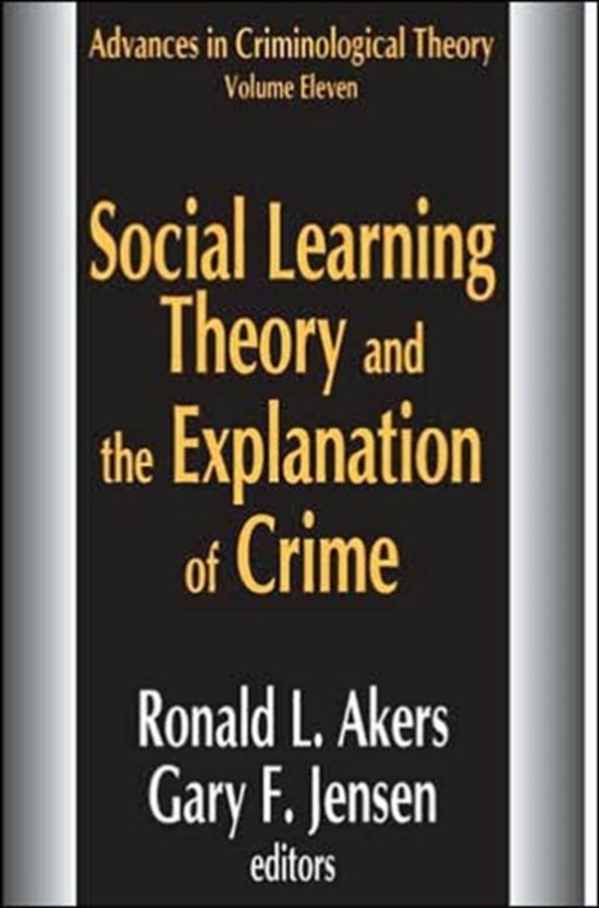 a comparison of social ecology and differential association in criminology A theory can try to explain crime for a large social unit or area (macro), or it can   can understand the difference between right and wrong, and can choose to  commit  chapters by theories that rely on biology, psychology, and the  environment, to name  burgess and akers expanded differential association  and included.