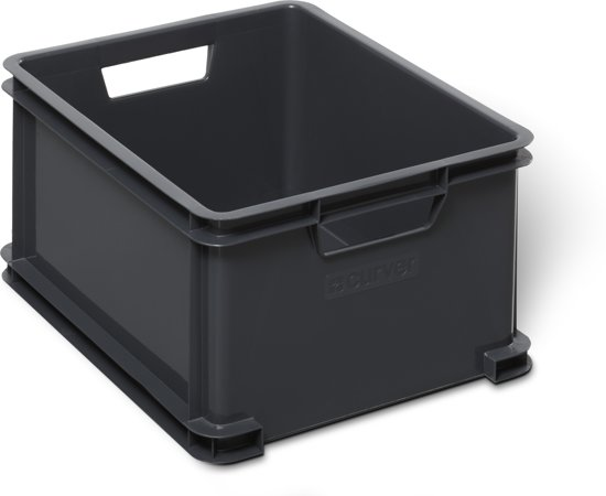 Curver Classic Unibox Opbergbox - 28 l - Antraciet