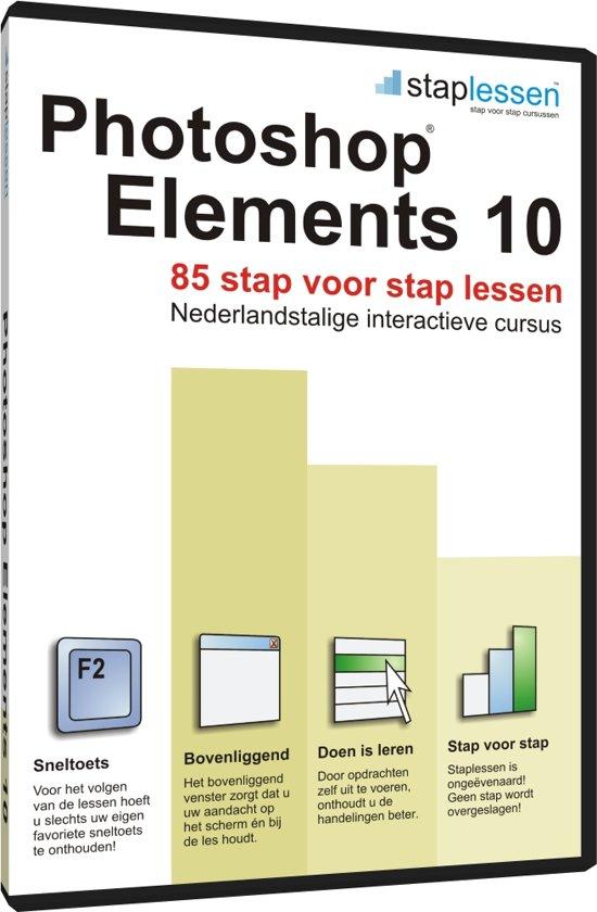 ShareART Staplessen Adobe Photoshop Elements 10 - Nederlands