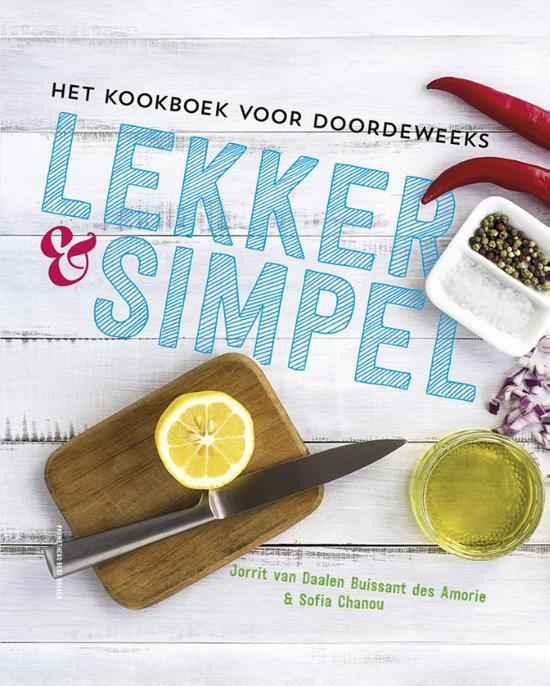 Lekker en simpel jorrit van daalen buissant des for Kookboek lekker en simpel