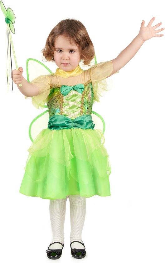 Groene fee kostuum voor meisjes  - Kinderkostuums - 98/104 in Voorde