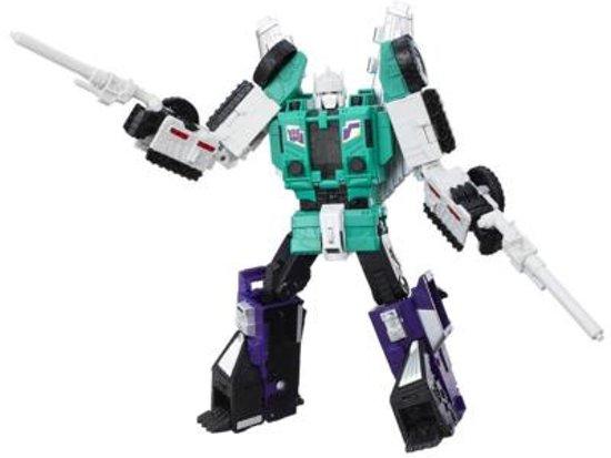 Transformers Generations Titans Return - Six Shot & Decepticon Revolver in Antum
