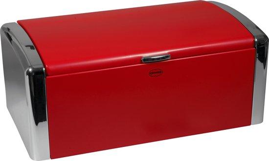 Rode Keukenapparaten : bol.com Cabanaz Broodtrommel – Rood Koken en tafelen