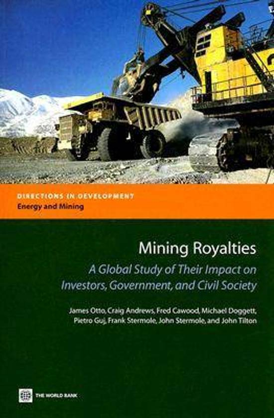 bol.com | Mining Royalties, John E. Tilton & James Otto