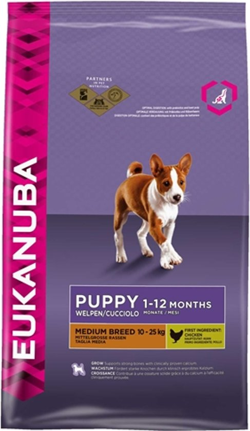 Eukanuba Dog Puppy Medium Breed