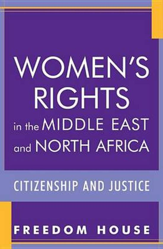 Women's Rights in the Middle East and North Africa: Supporting the Fight for Freedom and Equality