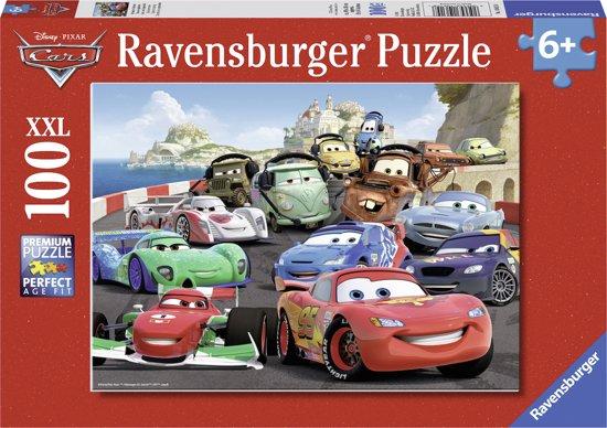 Ravensburger Disney Cars Explosieve race - Puzzel van 100 stukjes in Heelweg