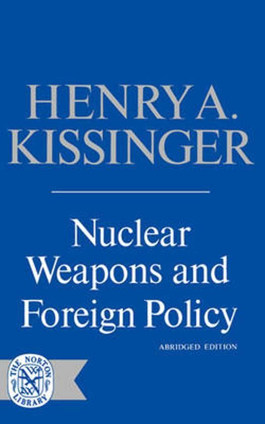 henry kissinger three essays