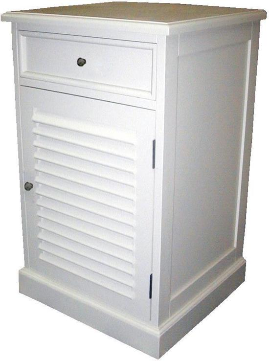 Senze krapyak nachtkastje wit hout - Wit hout nachtkastje ...