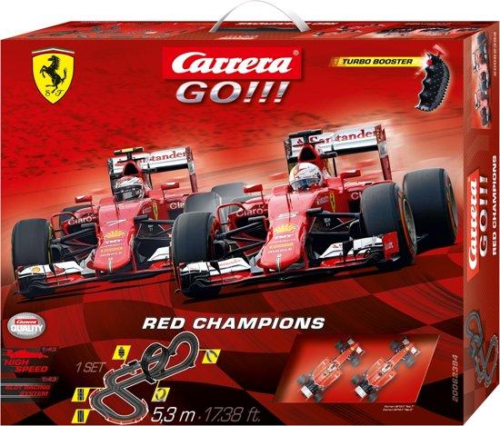 Carrera GO!!! Red Champions - Racebaan in Vriezenveen