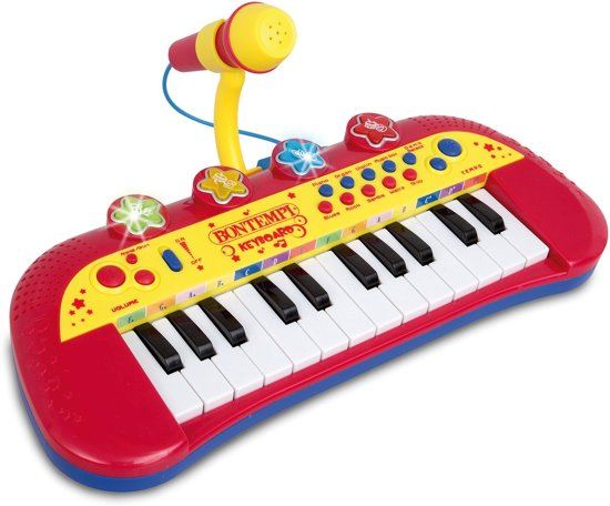 Bontempi Toetsenbord met Microfoon in Aalsum