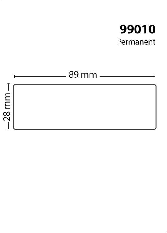 10x Dymo 99010 Compatible 130 Labels