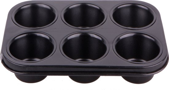 Imperial Kitchen Bakvorm Nonstick - voor 6 Muffins