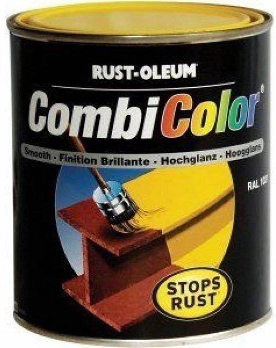 Rust-Oleum CombiColor Hoogglans Kleur: Reseda Groen RAL 6011 art. nr. 7335, Inhoud: 750 ML in Oshaar