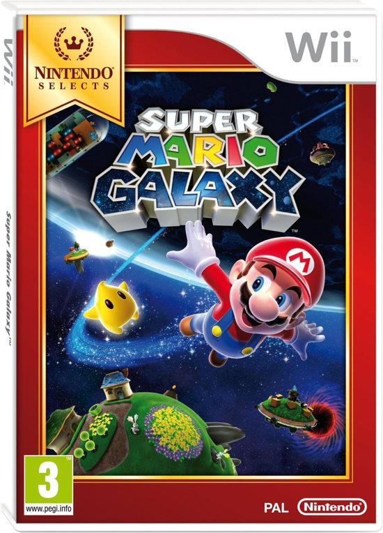 Super Mario Galaxy - Nintendo Selects - Wii