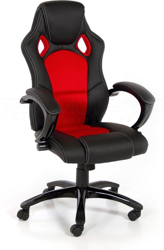 Bureaustoel Gaming Goedkoop.24designs Bureaustoel Game Stoel Racer Zwart Of Game Stoel