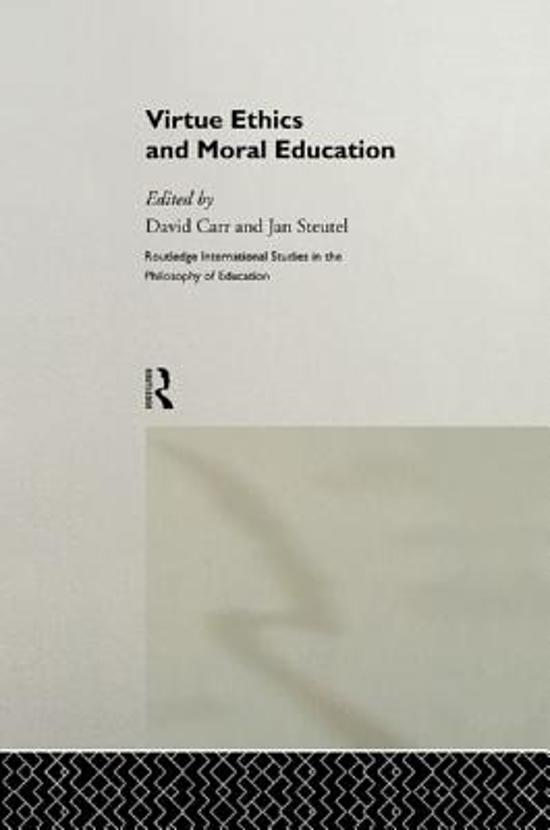 virtue and education What is the relationship between civic education and character education: the role of civic education: center for civic education instruction & assessment virtue in individuals then was seen as an important public matter.
