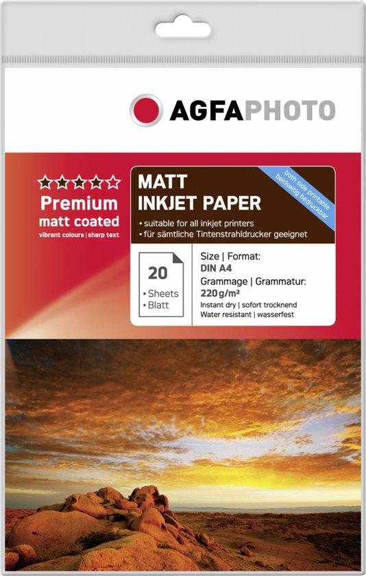 AgfaPhoto Double Mat 220g  A4 20V