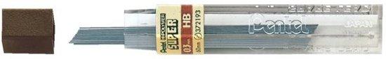 Pentel Vulpotlood Vulling | Potloodstift 0,3 mm HB buisje à 12 stiften | bruine dop in Kraggenburg