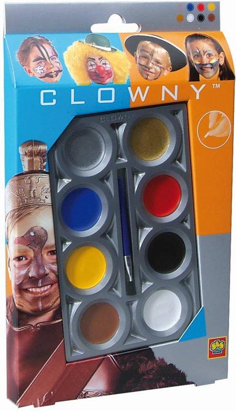 Ses Clowny Aquaschmink 8 Kleuren Basis in Engis