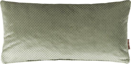 bolcom dutchbone spencer sierkussen groen 30x60cm