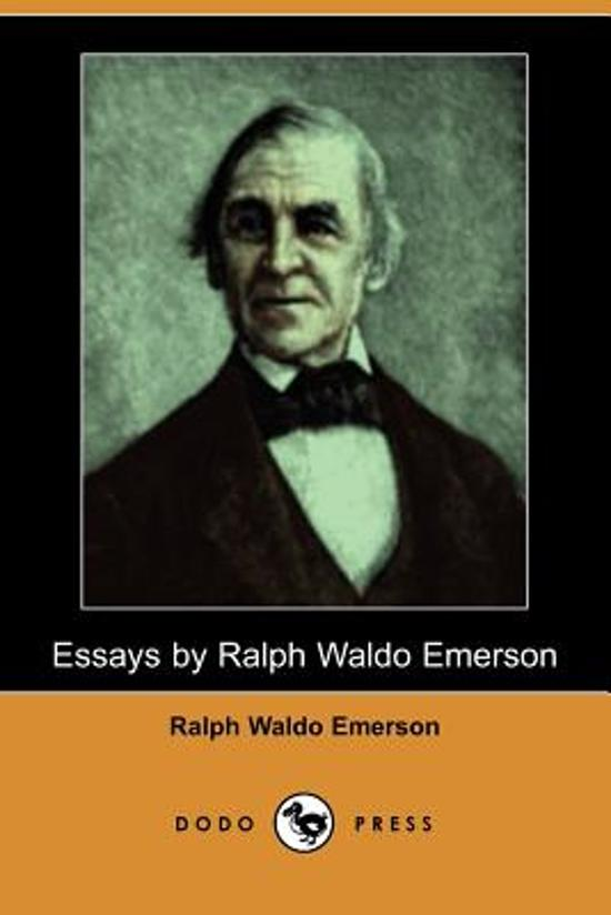 Emerson based a lot of his essays on