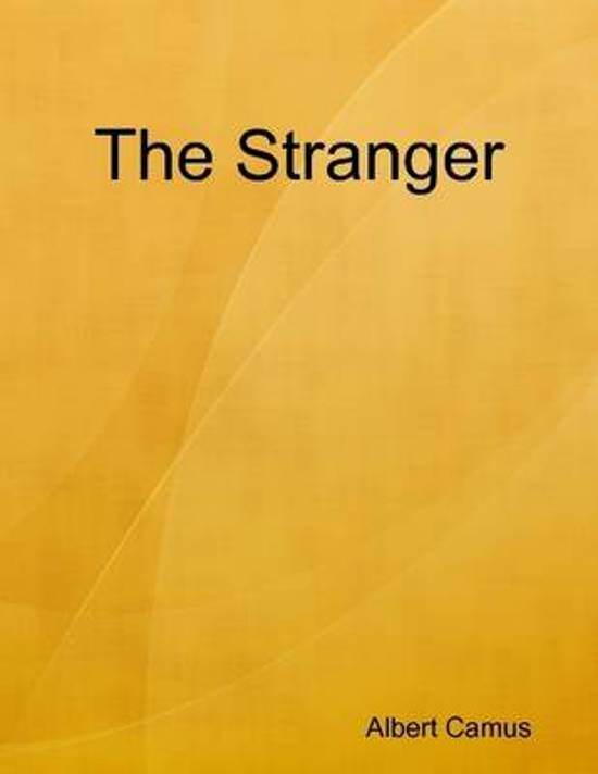 essay on the stranger camus
