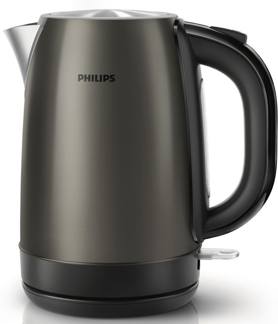 philips hd9322 81 waterkoker titanium. Black Bedroom Furniture Sets. Home Design Ideas