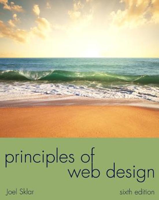 Web design joel sklar cengage learning