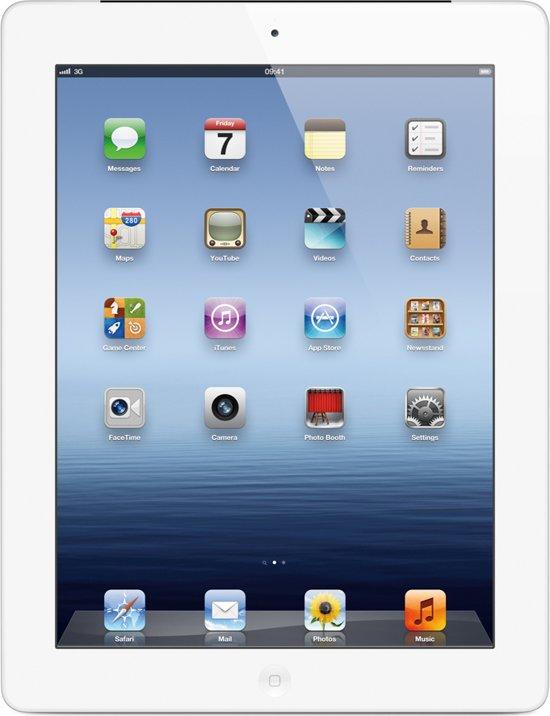 Apple iPad 4 Retina - Wit/Zilver - 16GB - Tablet