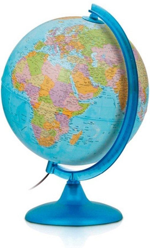 Wereldbol blauw met verlichting speelgoed for Bol com verlichting