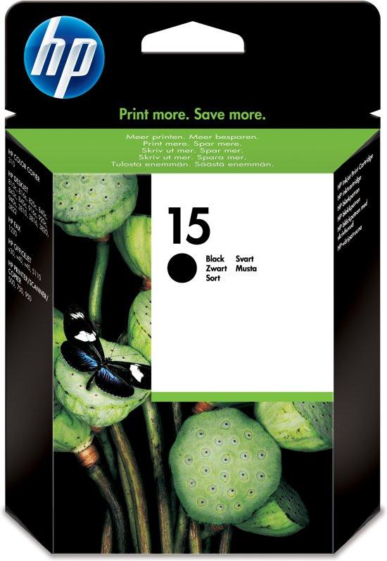 HP 15 - Inktcartridge / Zwart