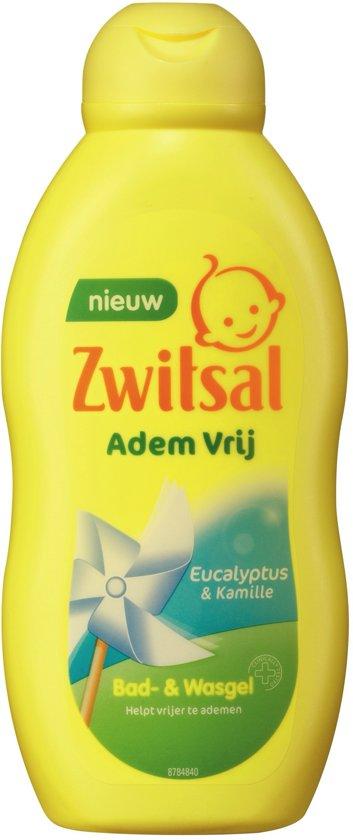 Zwitsal Bad- & Wasgel Ademvrij - 200 ml - Baby