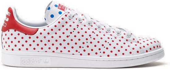 71c11811570 adidas Originals Stan Smith Polka Dot - Sneakers - Mannen - Maat 42 - Wit;