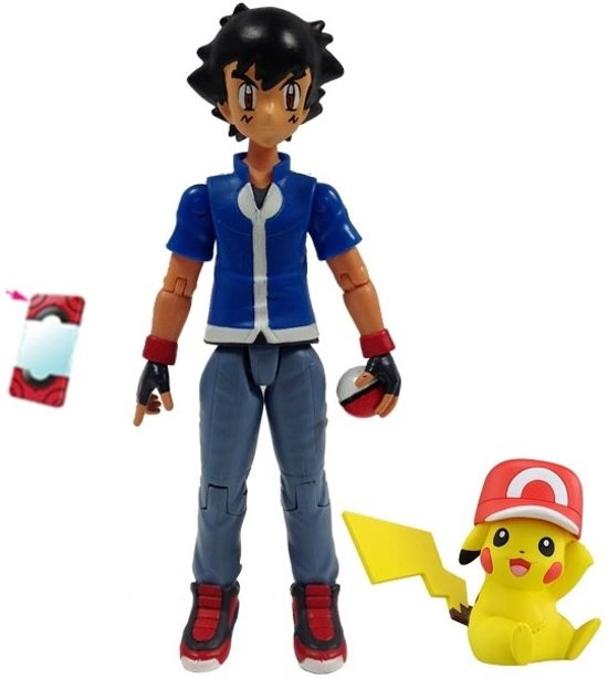 Tomy Pokmon Pikachu Ash Exclusive 20th Anniversary Action Figure in \'s Gravenwezel