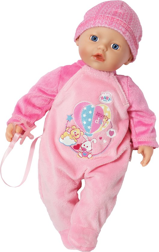 Bol Com My Little Baby Born Supersoft Babypop Zapf
